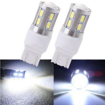 12 SMD CREE White 6000K LED Bulb Car Tail Lamp Brake Stop Light - intl ...