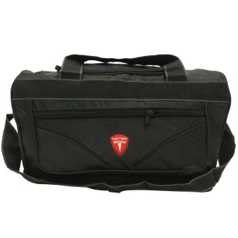 Theo Travel Bag Susun V - Hitam. >>>>