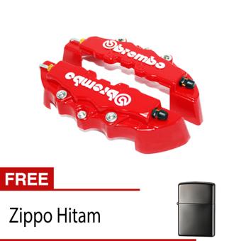 harga OTOmobil Cover Rem Brembo Small COMBO Cakram Brake Kecil + Korek Zippo Hitam Lazada.co.id