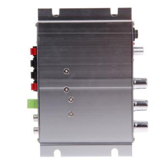 ZUNCLE SUOER SON-169 300 Watt Stereo Audio Penguat Tenaga Mobil Serbaguna (Perak)
