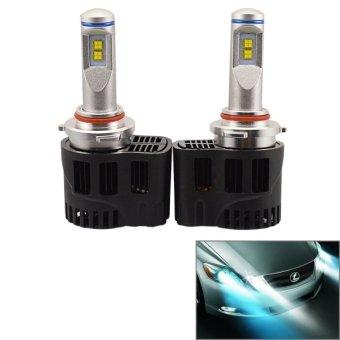 2 buah zy-hb3/h10jgdp 6 yg 55 watt Philips MZ 5200 lumen 6000 KB putih lampu kepala lampu LED mobil dengan sopir, DC 11-30 V - International