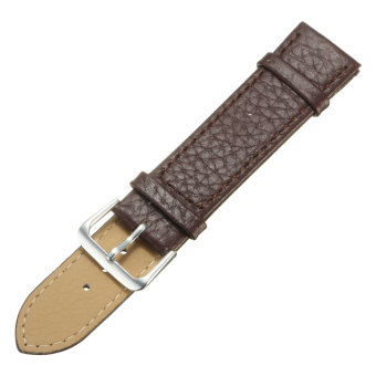 harga Spare PU Leather Watch Band Strap for Samsung Galaxy Gear S2 Classic BSM-R732 Brown 20mm Lazada.co.id