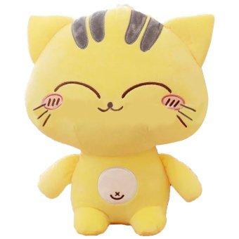 30 cm katun mewah besar mainan kucing berbaring wajah boneka…