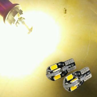 ... LED Arsystore Lampu Senja 8 Titik 5730 Monster Model Panah T10 W5W Warm White