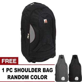 harga PoloClub Invidia Backpack + FREE OREGANO Random Color Shoulder Bag Lazada.co.id
