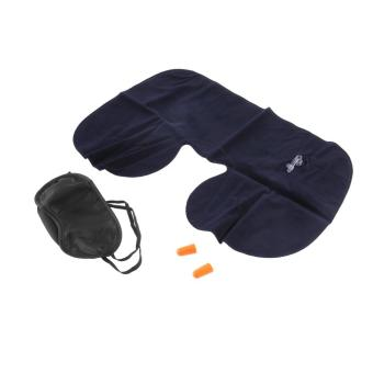 U Cushion Pillow + Eye Mask + 2 Ear Plug
