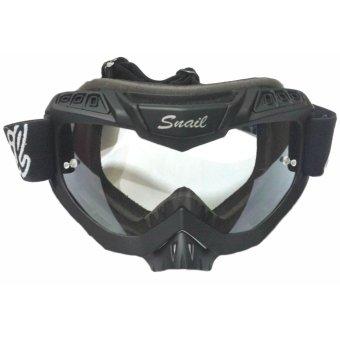 harga Kacamata Goggle MX37 - Google Snail M37 Hitam Bening Lazada.co.id