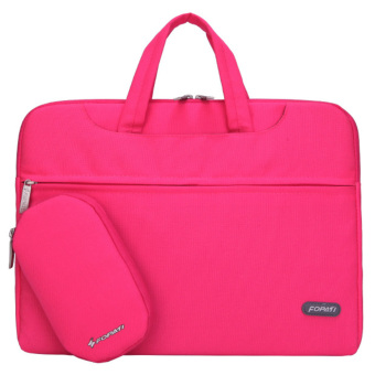harga Multifunctional Messenger Bag Briefcase for MacBook Air Pro Samsung Tab HP Acer ASUS Lenovo Dell Toshiba Universal 13inch Notebook Laptop Computer Pink - Intl Lazada.co.id