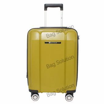 Navy Club Tas Koper Hardcase Fiber - PP 4 Roda Resleting Anti Tusuk - Kunci TSA. >>>>