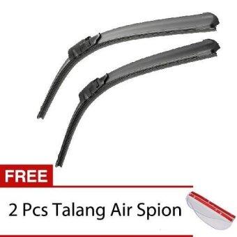 harga Wiper Mobil Frameless 1 Set - Daihatsu All New Xenia - Free 2 Pcs Talang Air Spion Clear Lazada.co.id