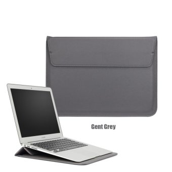 harga Bora 15.4' Laptop Case Sleeve PU Leather Waterproof Case Withe Stand Function Protective Carrying Bag for MacBook Air/Pro Retian,ASus,Dell, Fujitsu, Lenovo, HP, Samsung, Sony, Toshiba - intl Lazada.co.id