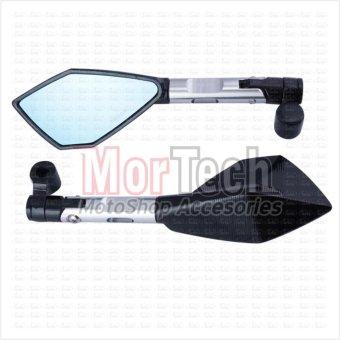 harga Agras Kaca Spion Sepion CB150R Fairing Tomok CNC - Silver Lazada.co.id