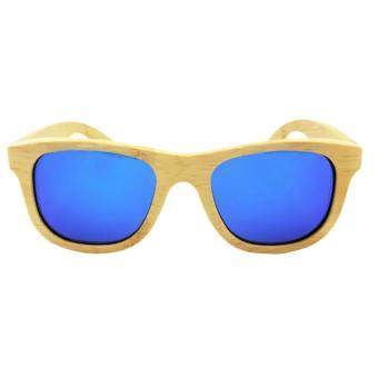 harga Oh Pria Antik Wanita Kayu Bambu Hadiah Kacamata Hitam Kacamata Terpolarisasi Eyewear Biru Lazada.