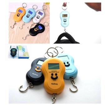 Portable Electronic Scale Timbangan Gantung Digital Portable 50Kg - Random Colour. >>>>