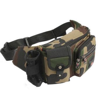 harga New Brand SWISSGEAR Waterproof Nylon 7 Laptop SWISS Unisex Fashion Shoulder Bag Solid Waist Bag JDB85 Army Green Lazada.co.id