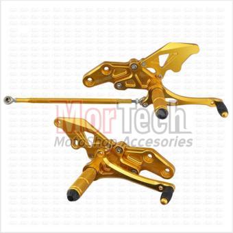 harga Agras Footstep - Foot Step depan – Underbone Vixion Old M-Sato Gold Lazada.co.id
