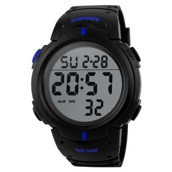 Brand Skmei Mens Sports Watches Digital LED Watch Men Fashion Casual Electronics Wristwatches 30meter Waterproof 1068