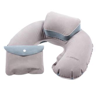 Harga Terbaru Tiup bentuk U bantal udara meledakkan bantal PVC berbondong-bondong portabel lipat perjalanan