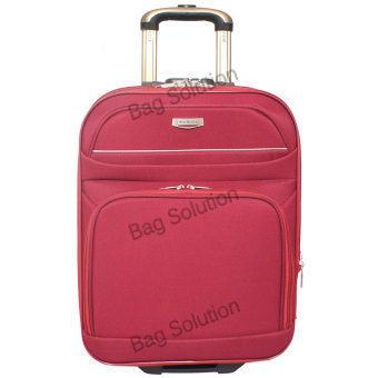 Polo Hunter Tas Koper Softcase Expandable 2 Roda 595-18 Inch - Merah - Gratis. >>>>