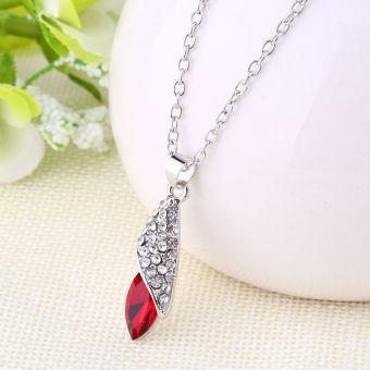 Harga Terbaru Kalung dengan liontin berbentuk bintang warna merah khusus untuk perempuan