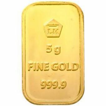 Harga Murah Gold Logam Mulia Lm Sertifikat Asli Antam 5 Gram Emas