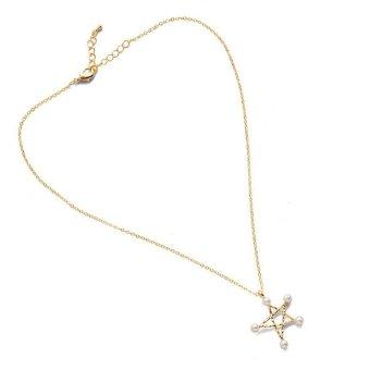 Anggun Gunawan Zirkon Perhiasan Cincin Kalung Anting Anting Cocok Dibangun Keemasan 4 .