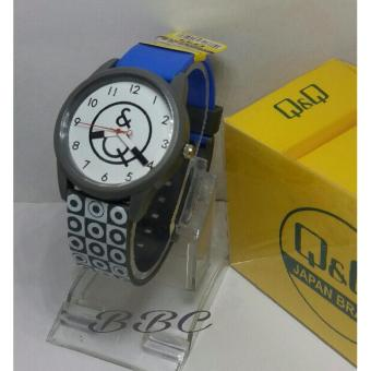 Q&q Watch Q8354ruy Jam Tangan Sport Wanita Rubber Strap Item Source Harga Q&Q .