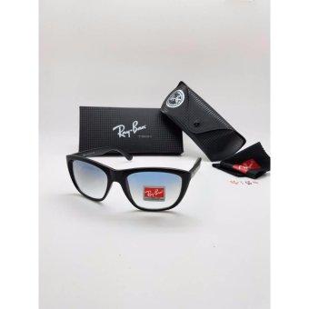 Kacamata Rayban 4154 Bingkai Hitam Lensa Biru