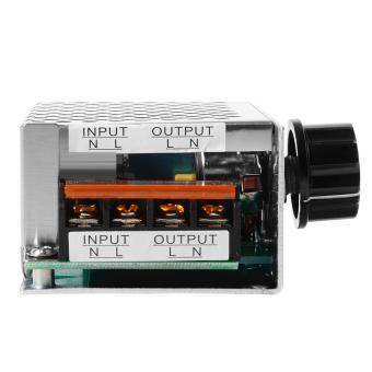 Harga 4000 Watt 220 V AC Scr Tegangan Pengatur Lampu Dim Motor Listrik Pengendali Kecepatan TE474