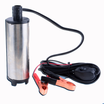 harga SuperCart New 12V DC Fuel Water Oil Car Camping Submersible Diesel Transfer Pump Lazada.co.id