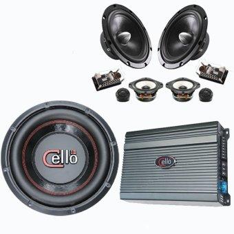 Harga Cello Car Audio Signature 7 Speaker 3 Way Hitam Terbaru