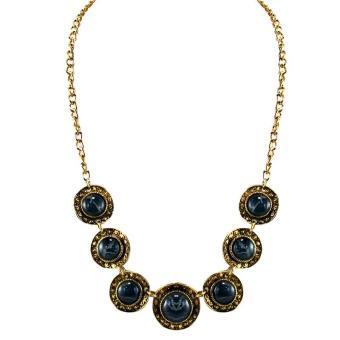 Ofashion Aksesoris Kalung XX-CA-1705k079 Xuping Jewelry Necklace Accessories - Emas Hitam