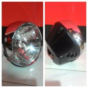harga KIC Lampu Headlamp Tiger Revo Kuwano 7 Inch Lazada.co.id