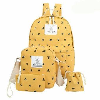 harga Tas bagpack 4 in 1 Mori Girl Lazada.co.id
