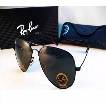 harga Kacamata Sunglass Rayban Clip On Hitam Kilat Lazada.co.id