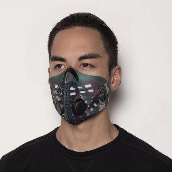 Masker ZULU Anti-Polusi N99 (Army)