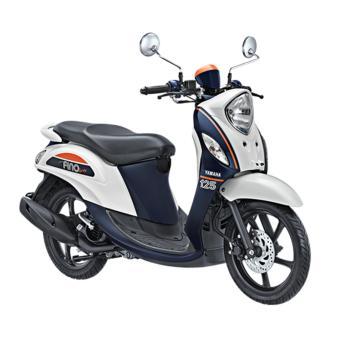 Harga Yamaha New Fino 125 Sporty White - Khusus Tangerang dan Sekitarnya