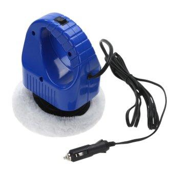 harga DC 12V Portable Car Auto Polisher Car Wax Polishing Machine Car Care Tools - intl Lazada.co.id
