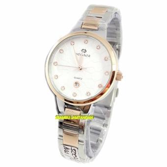 Harga Terbaru Hegner 5002L - Jam Tangan Wanita - Stainless Steel -silver rose gold