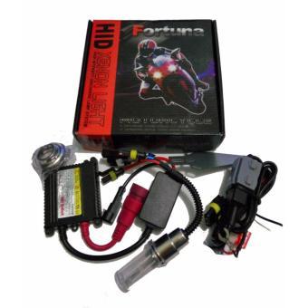 harga Fortuna - Lampu Motor HID H4 HS1 H6 DC 8000k Lazada.co.id