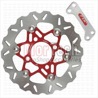 harga PSM Piringan Rem Cakram Disc Brake Mio Soul 110 cc Kembang 22 cm - Merah Lazada.co.id