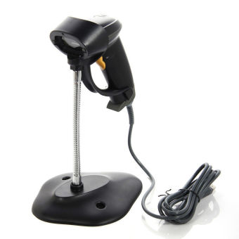 harga Automatic Portable USB Laser Barcode Bar Code Scanner Reader POS + Stand Lazada.co.id