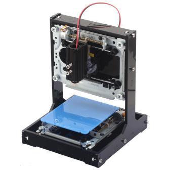 harga NEJE tenaga tinggi 500mW DIY mesin grafir laser/laser/kotak Printer Laser - Hitam + Biru Lazada.co.id