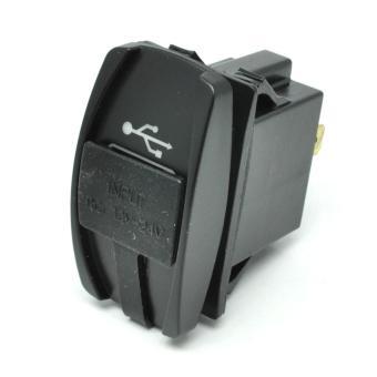 USB Charger Motor 2 Port DC 12-24V