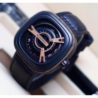 harga Jam Tangan SevenFriday-Genuine Leather Strap Mechanical Engine Movement Lazada.co.id