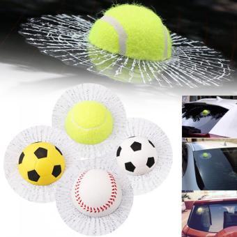 3D Funny Style Body Mobil Jendela Diri Perekat Hit Bola Tenis…