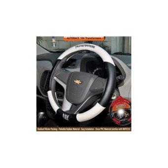 AUTORACE Cover Stir / Sarung Stir Mobil AR 104 Transformers - White. >>>>
