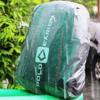 Sarung Jas Hujan / Backpack Cover / Tutup Tas Ransel Anti Air Waterproof - Transparant