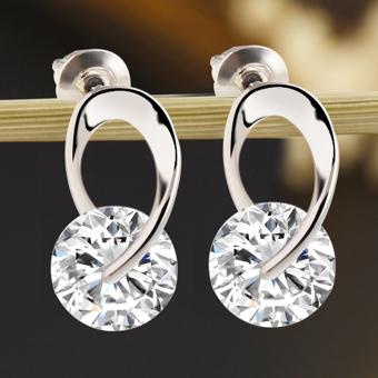 ... Harga Terbaru Gracefulvara Wanita Perempuan Fashion Perhiasan Anting Perak