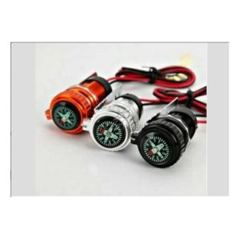 Charger Motor USB Anti Air Stainless / mobile Phone Charger Motorcycle